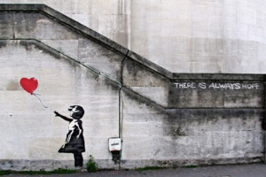 Bansky there is always hope